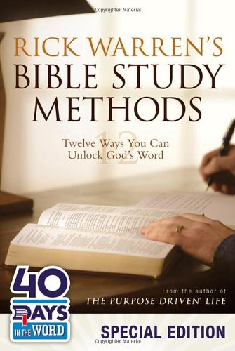 Rick Warren's Bible Study Methods: 40 Days in the Word by Rick Warren, ISBN: 9780310495932