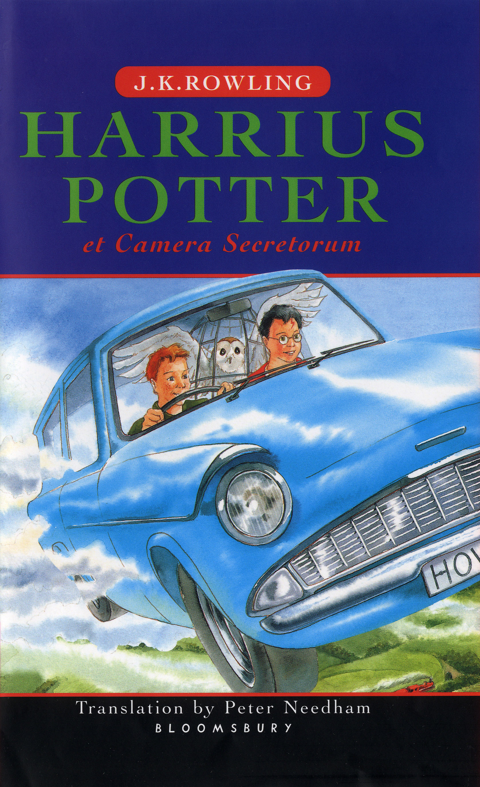 Harry Potter and the Chamber of Secrets - Latin edition