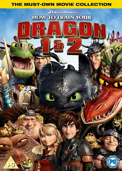 How to Train Your Dragon / How to Train Your Dragon 2 [Double Pack] [DVD]