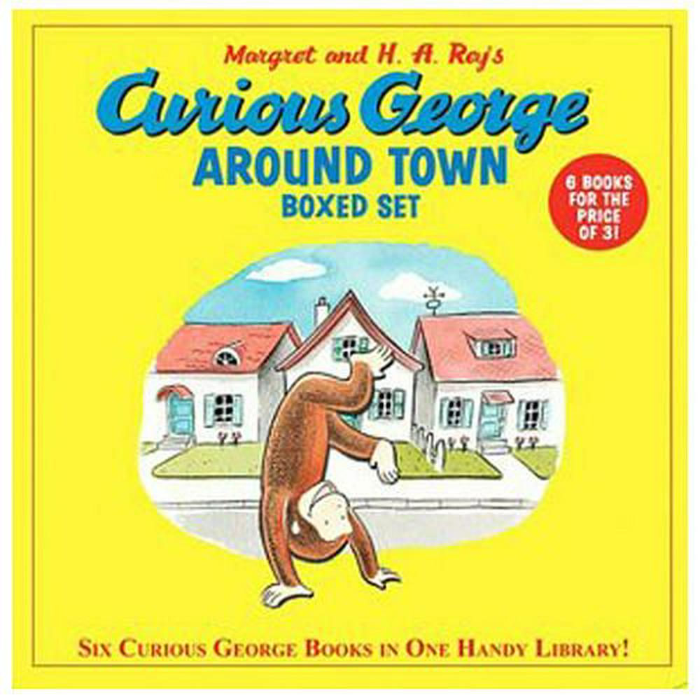 Curious George Around Town Boxed Set