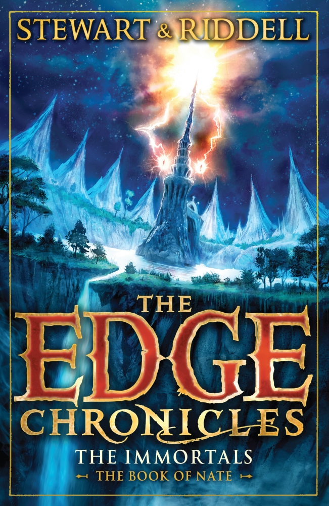 The Edge Chronicles 10: The Immortals: The Book of Nate by Paul Stewart, ISBN: 9781446498293