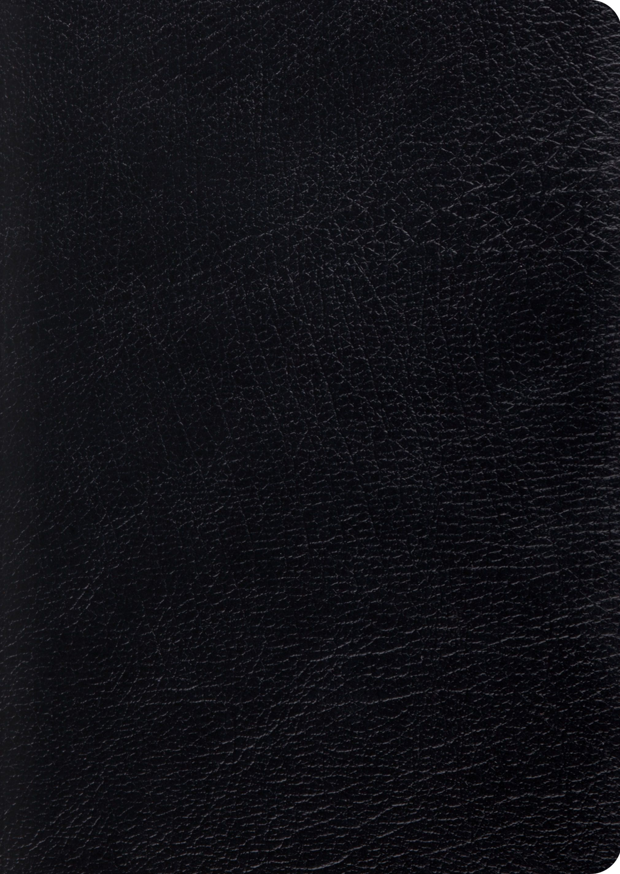 ESV Study Bible, Large Print (Genuine Leather Black)