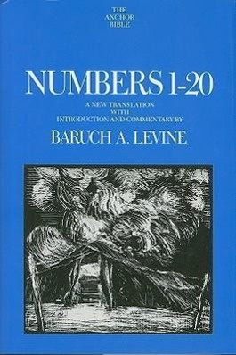 Numbers 1-20 by Baruch A. Levine, ISBN: 9780300140774