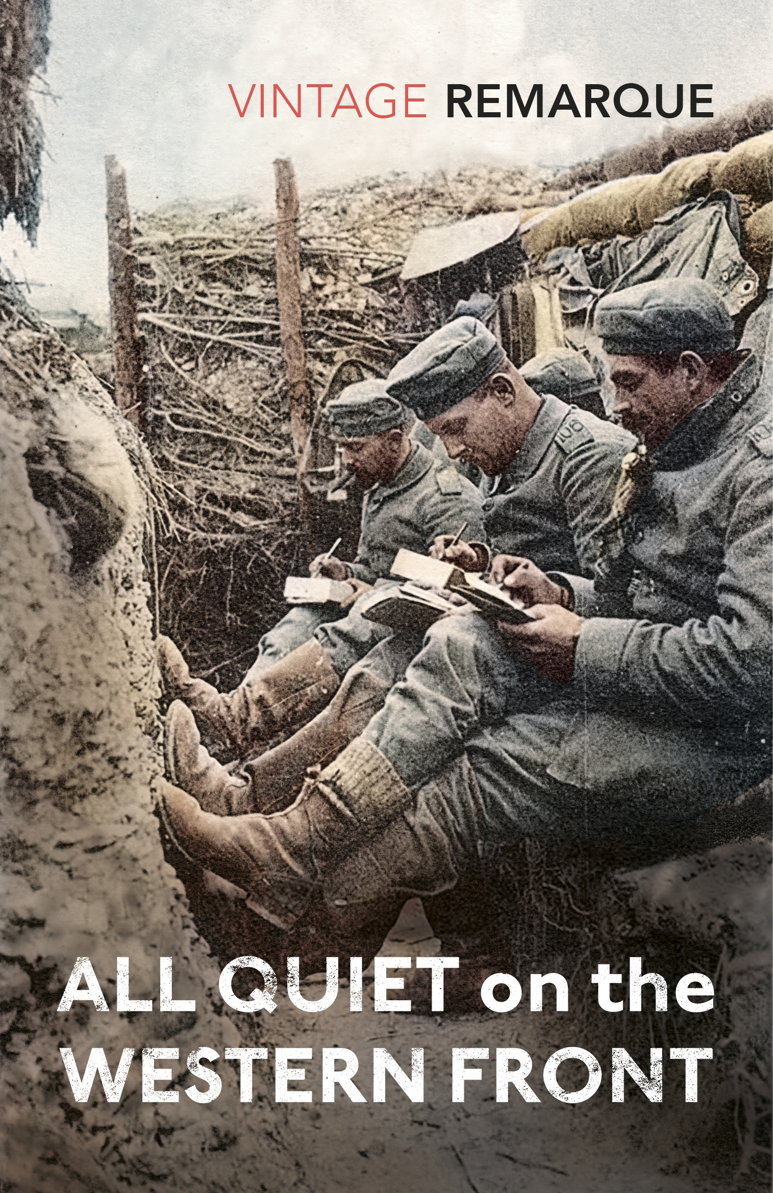 a literary analysis of all quiet on the western front by erich remarque Litcharts assigns a color and icon to each theme in all quiet on the western front, which you can use to track the themes throughout the work the horror of modern war survival.