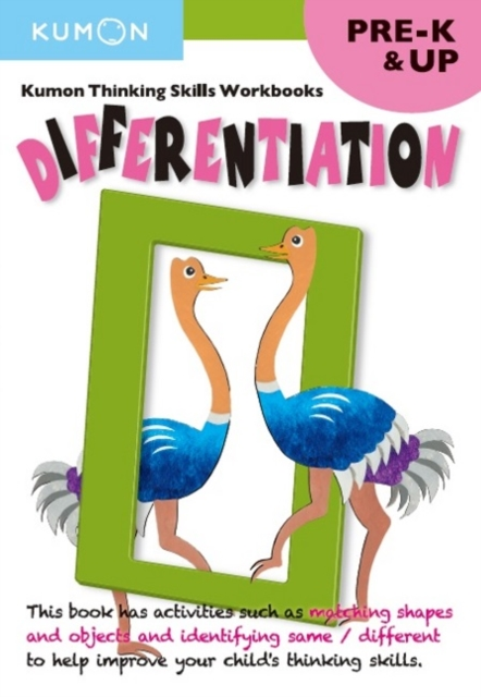 Differentiation (Thinking Skills Workbooks) by Kumon Publishing, ISBN: 9781941082232