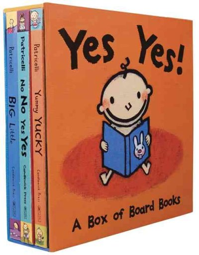 Yes Yes! A Box of Board Books (Leslie Patricelli board books) by Leslie Patricelli, ISBN: 9780763641580