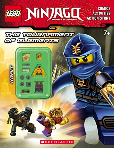 Lego Ninjago: Untitled Activity Book with Minifigure