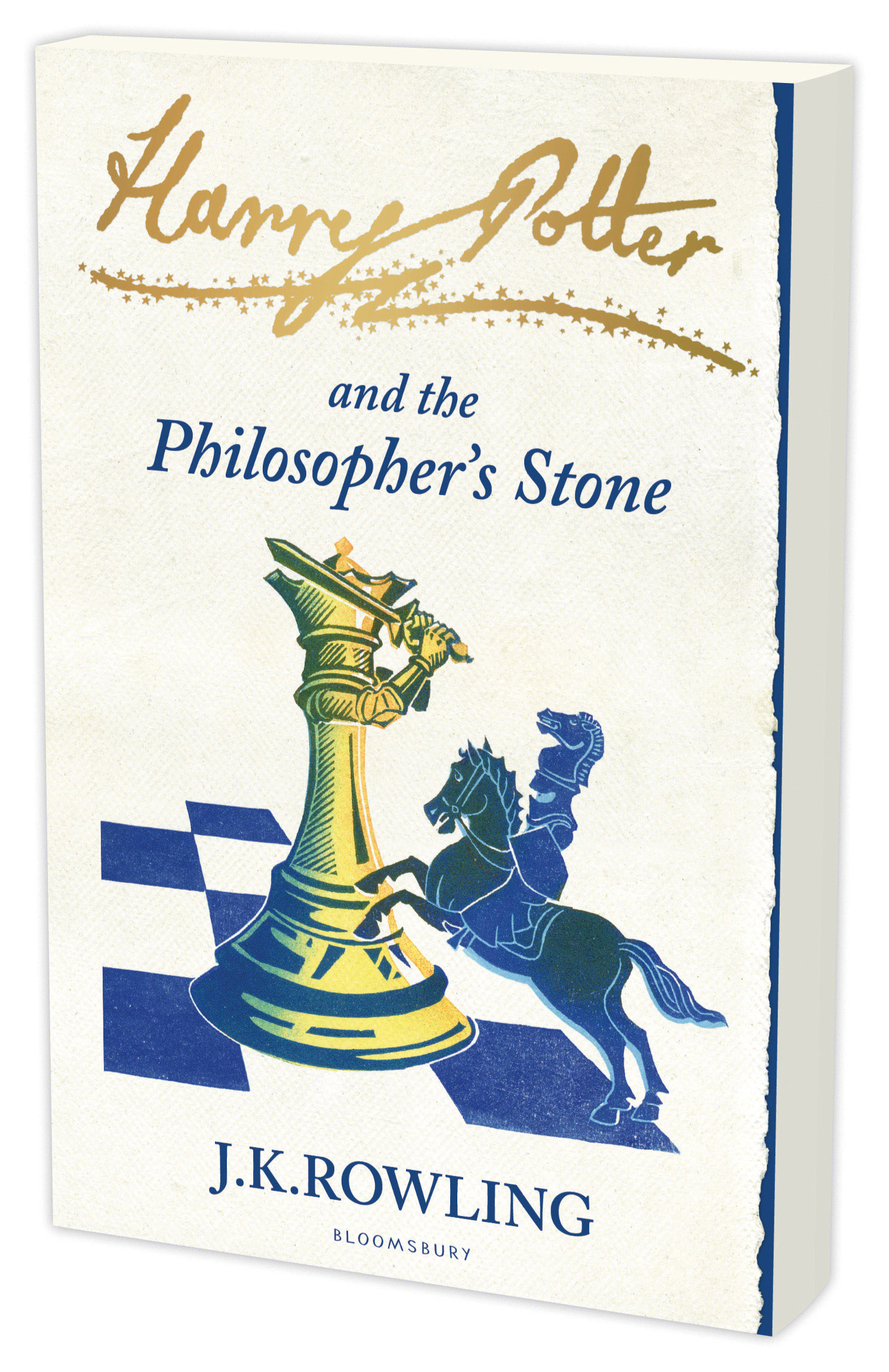Cover Art for Harry Potter and the Philosopher's Stone signature edition, ISBN: 9781408810545