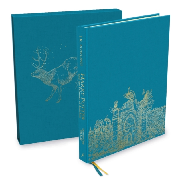 Harry Potter and the Prisoner of Azkaban: Deluxe Illustrated Slipcase Edition by J.K. Rowling, ISBN: 9781408884768