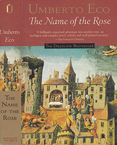 Name of the Rose (Harvest in Translation) by Umberto Eco, ISBN: 9781417706112
