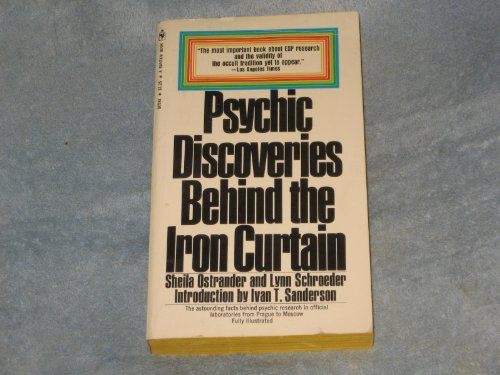 Psychic Discoveries Behind the Iron Curtain by Ostrander Sheila, ISBN: 9780553106152
