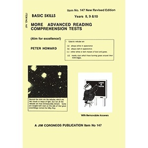 Basic Skills: More Advanced Reading/Comprehension Tests: Years 8-10