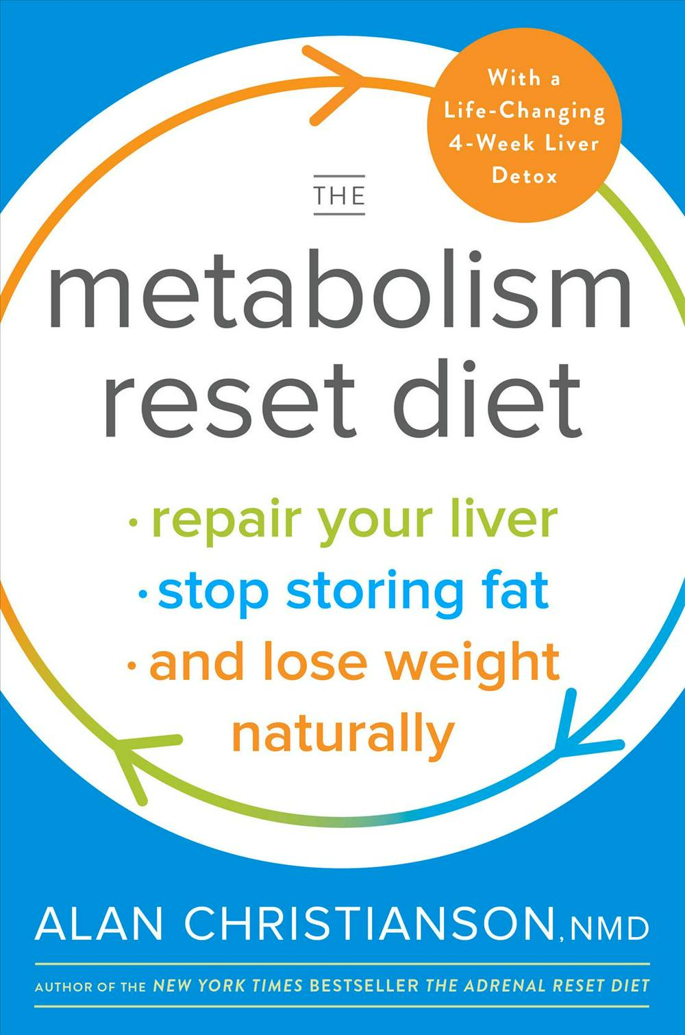 The Metabolism Reset Diet: Repair Your Liver, Stop Storing Fat, and Lose Weight Naturally by Dr Alan Christianson, ISBN: 9780525573449