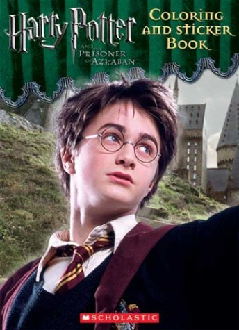 Harry Pooter and the Prisoner of Azkaban Coloring and Sticker Book