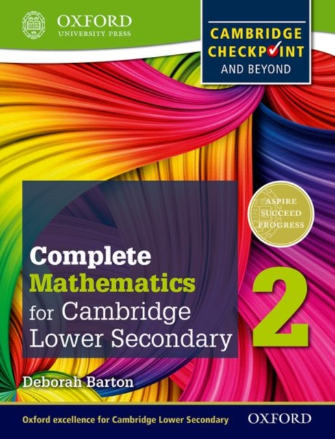 Oxford International Maths for Cambridge Secondary 1 Student Book 2 by Deborah Barton, ISBN: 9780199137077