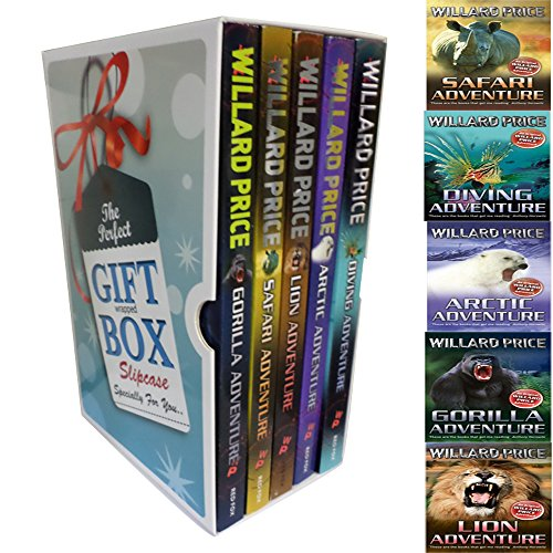 Willard Price Adventure Series Collection Special Gift Box 5 Books Bundle