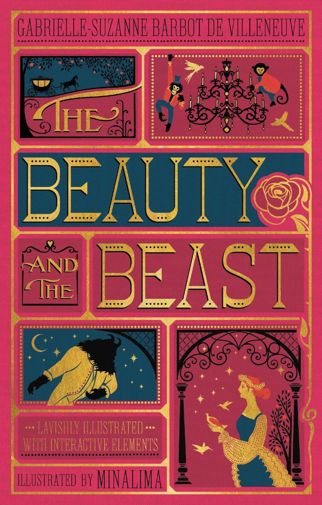 The Beauty and the Beast by Gabrielle-Suzanna Barbot de Villeneuve, ISBN: 9780062456212