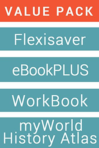 History Alive 9 for the Australian Curriculum Flexisaver & EBookPLUS + History Alive 9 Student Workbook + Myworld History Atlas (Card)