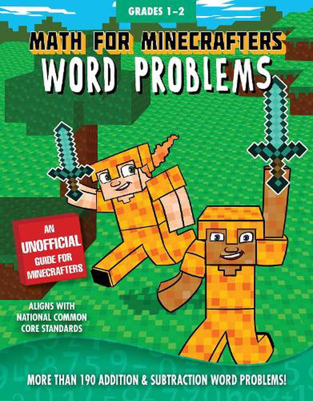 Math for Minecrafters Word ProblemsGrades 1-2