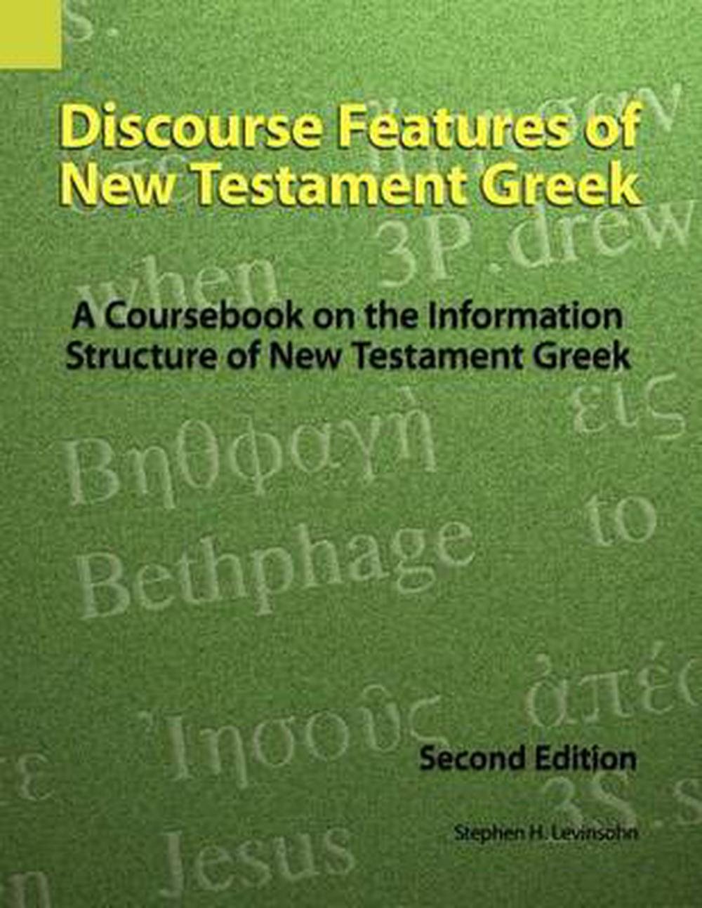 Discourse Features of New Testament Greek
