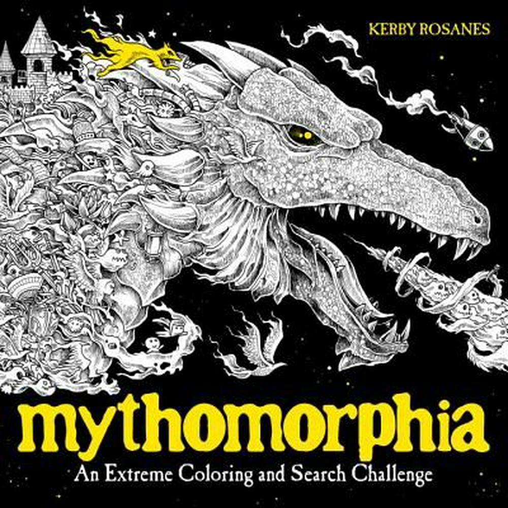 Mythomorphia by Kerby Rosanes, ISBN: 9780735211094