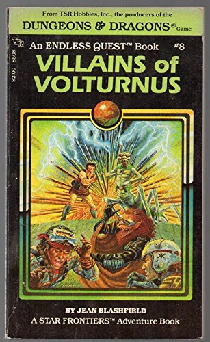 Villains of Volturnus: Endless Quest Book 08 ... by Jean F Blashfield, ISBN: 9780880380232