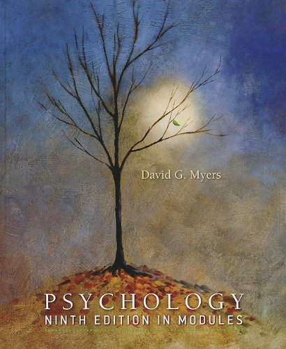Psychology by University David G Myers, ISBN: 9781429247474