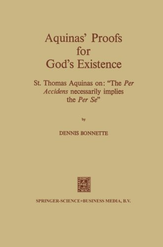 an analysis of st thomas aquinass first two ways in proving existence of god ^ however, thomas aquinas never speaks of proofs for the existence of god per se, and on one reading, his ways may be taken as demonstrations of the inner coherence of belief in god, rather than proofs [page needed.