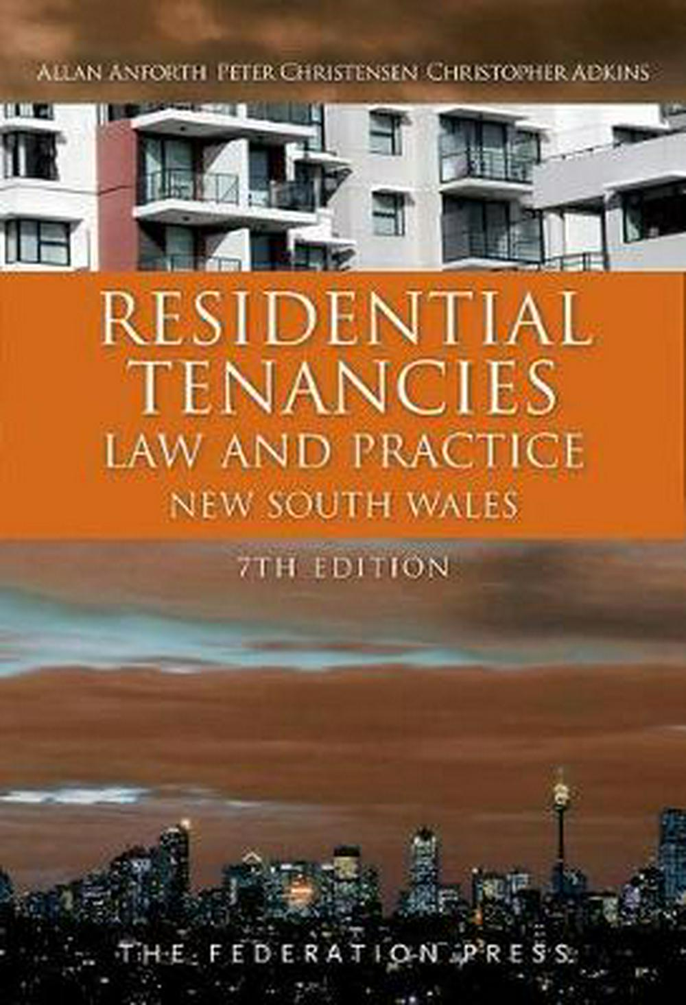 Residential Tenancies Law and PracticeNew South Wales