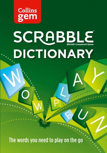 Collins Gem Scrabble DictionaryThe Words You Need to Play on The Go [Fourth Ed...