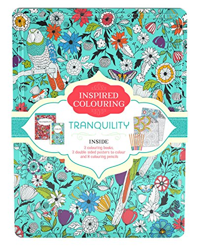 Inspired Colouring Tin - Tranquility by Parragon Books, ISBN: 9781474850995