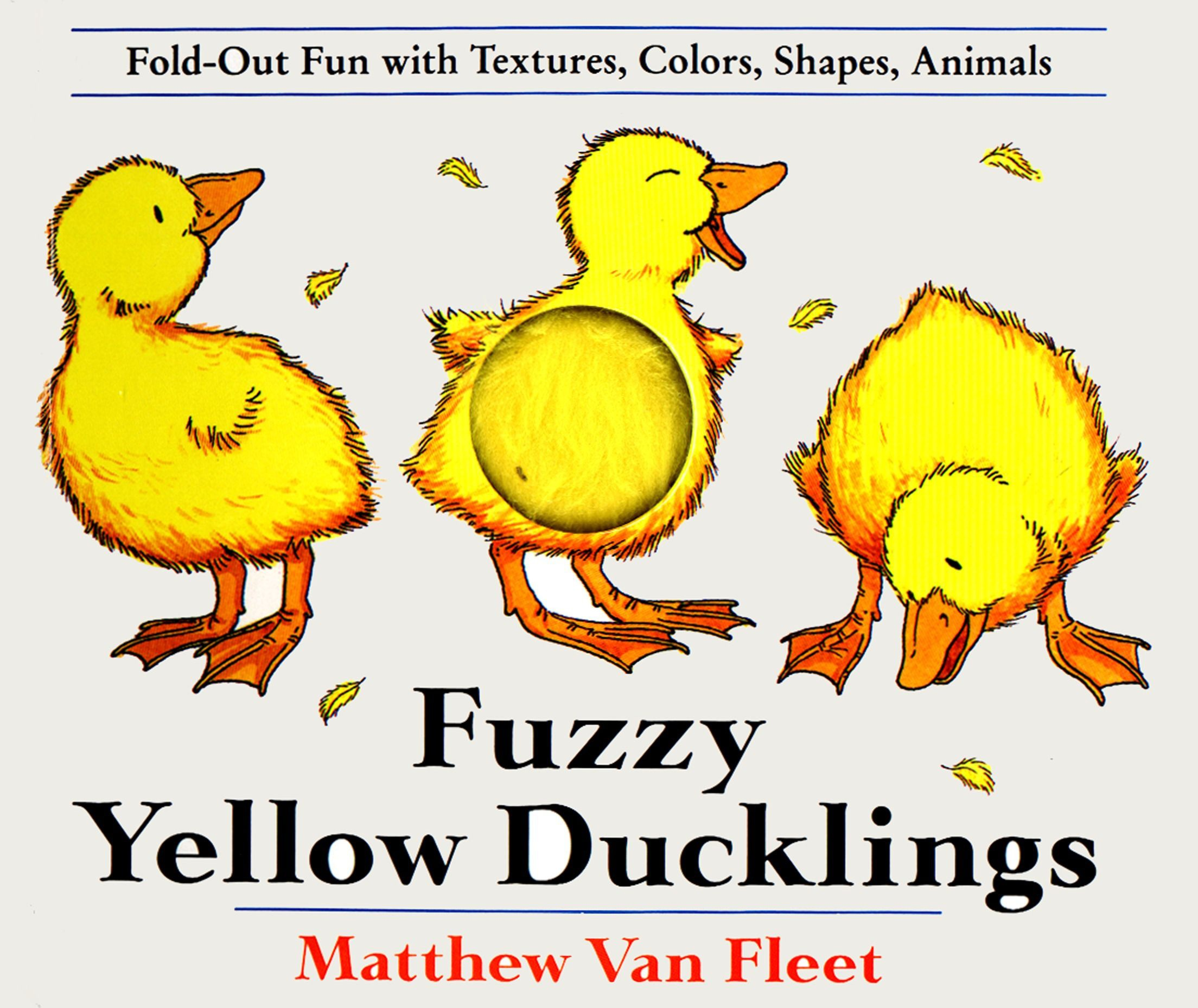 Fuzzy Yellow Ducklings: Fold-out Fun With Textures, Colors, Shapes, Animmals