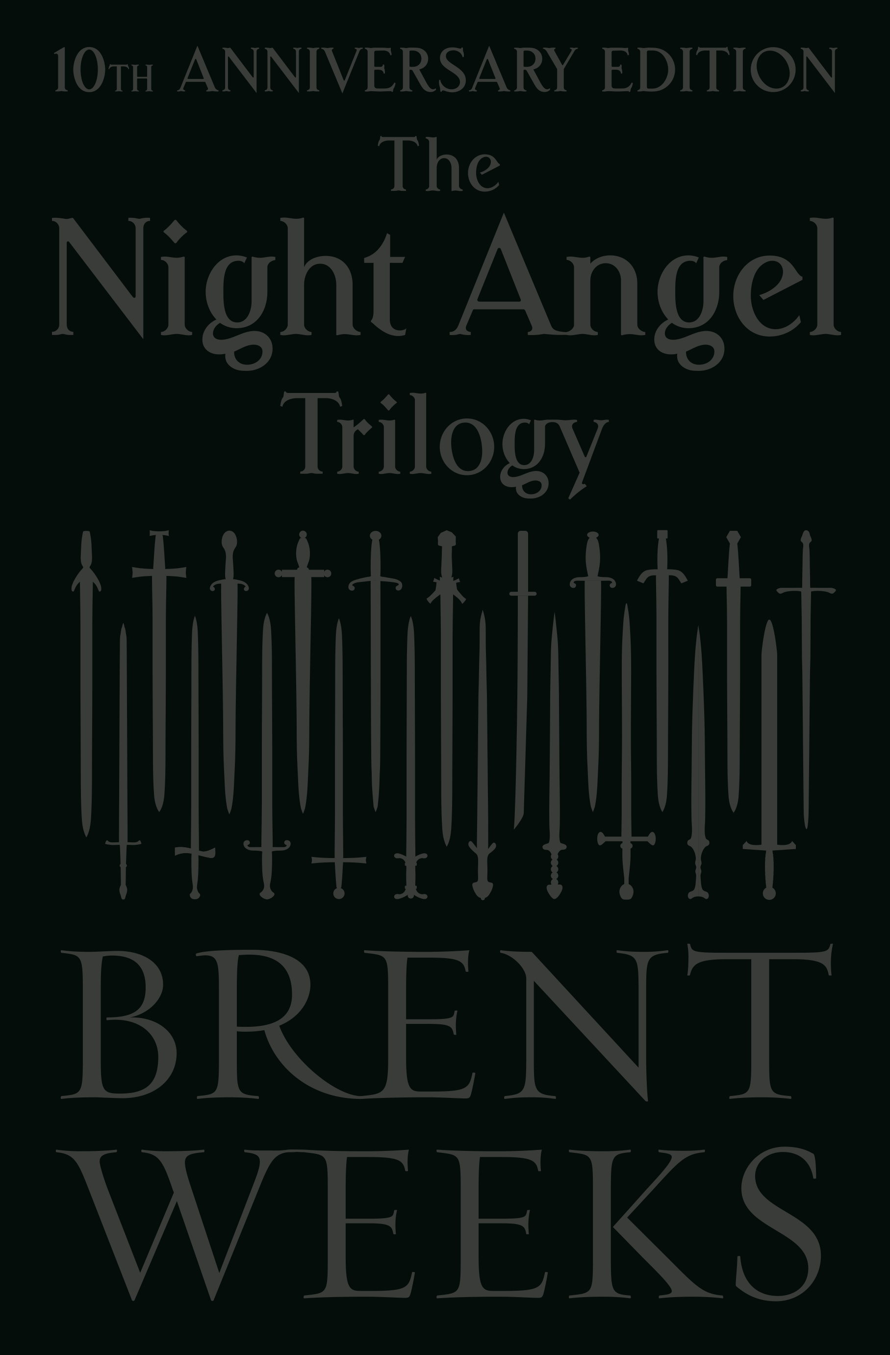 The Night Angel TrilogyTenth Anniversary Edition