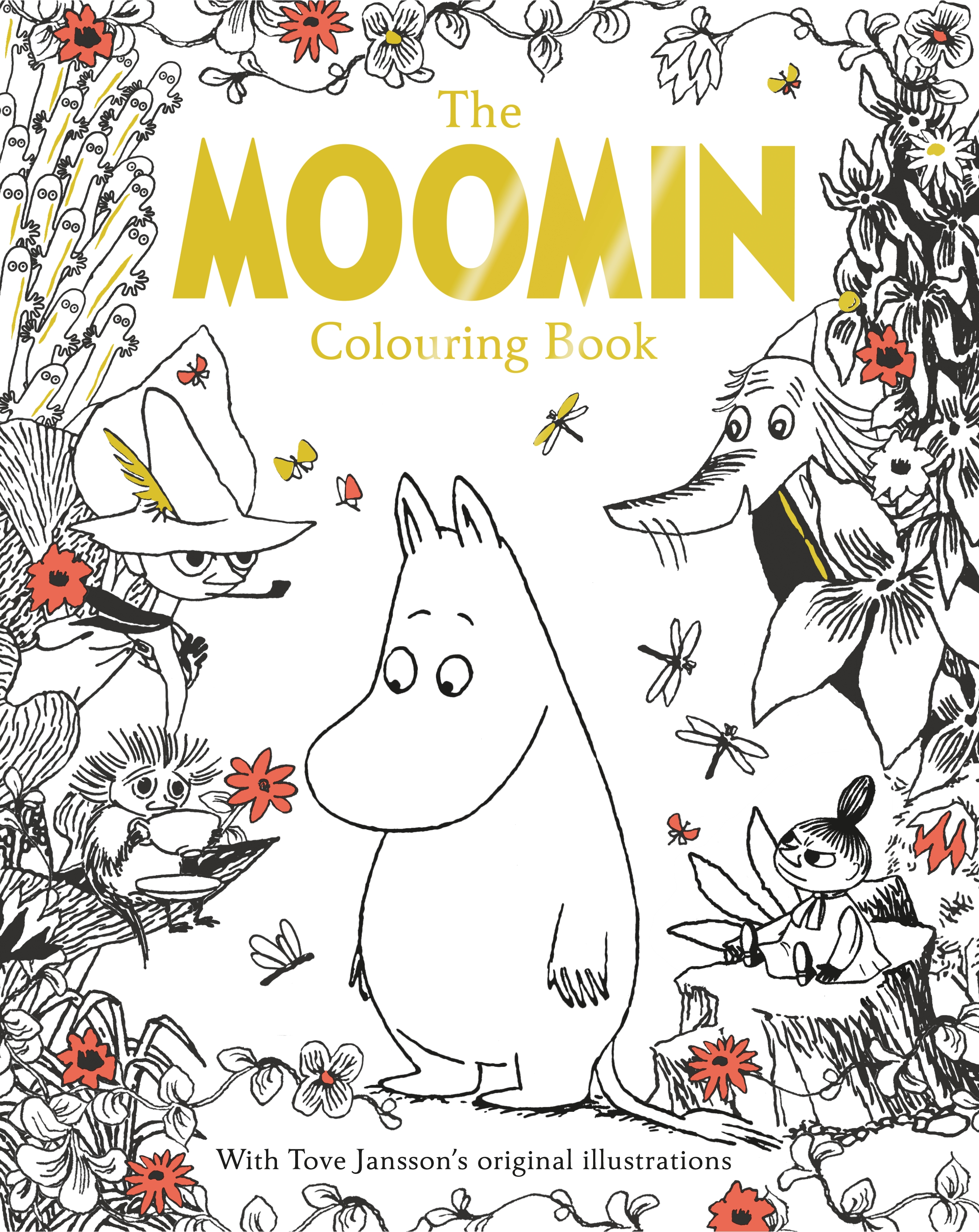 The Moomin Colouring Book by Macmillan Children's Books, ISBN: 9781509810024