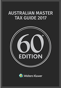 Australian Master Tax Guide 2017 60th Edition