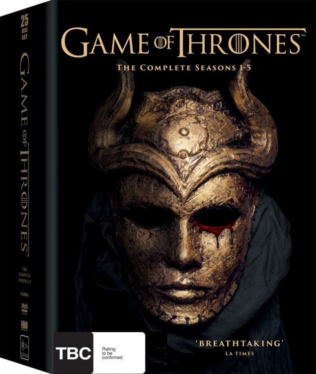 Game Of ThronesSeries 1 - 5 by Emilia Clarke,Lena Headey,Peter Dinklage,Kit Harington,Various Others, ISBN: 9398712337998