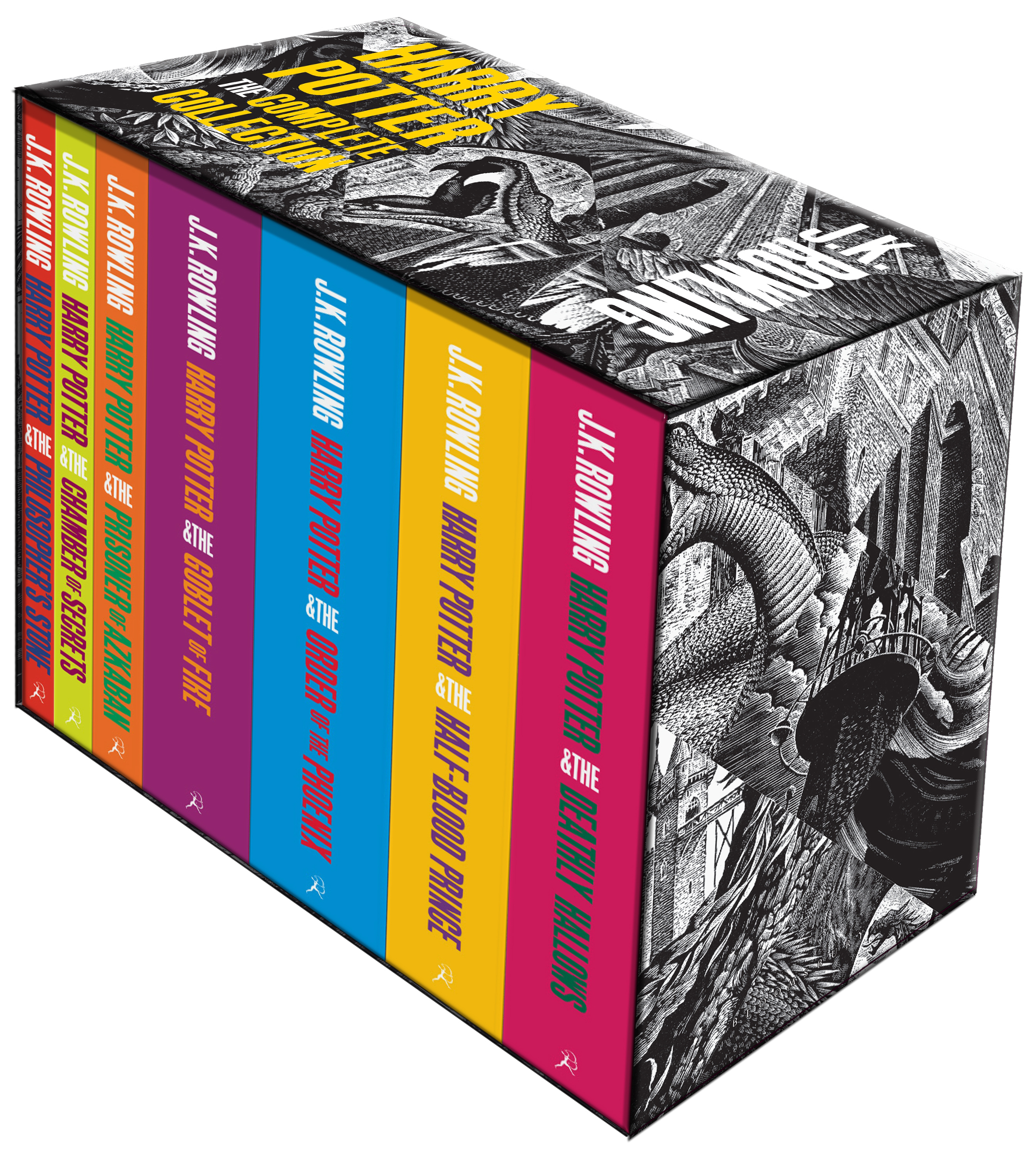 Harry Potter Complete Paperback Box Set Adult Editions by J.K. Rowling, ISBN: 9781408850756