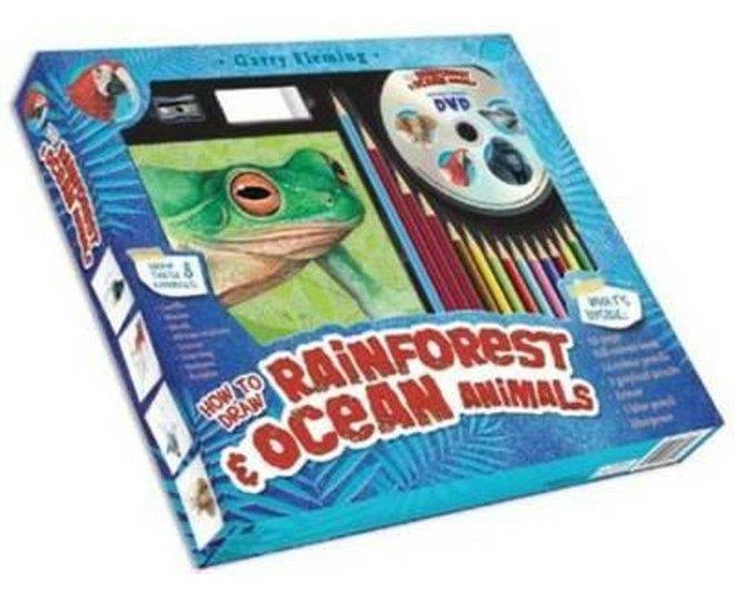 Garry Fleming's How to Draw Rainforest & Ocean Animals