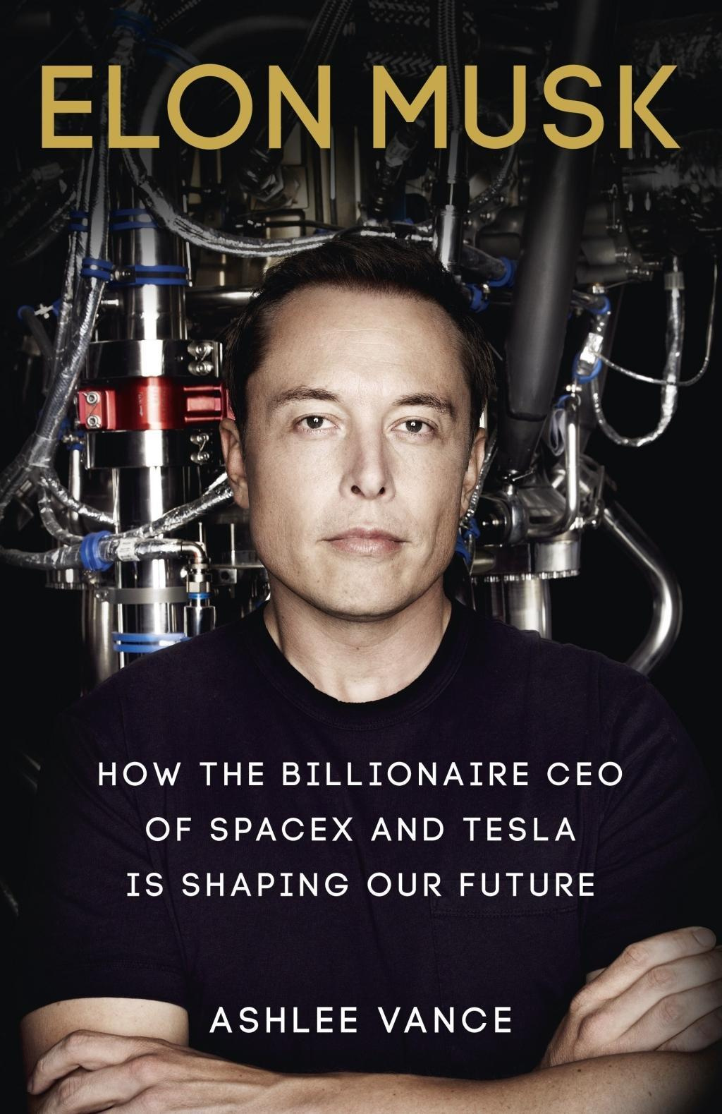 Cover Art for Elon Musk: Inventing the Future, ISBN: 9780753555637