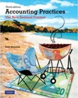 Accounting Practices by Ruth McIntosh, ISBN: 9781442562554