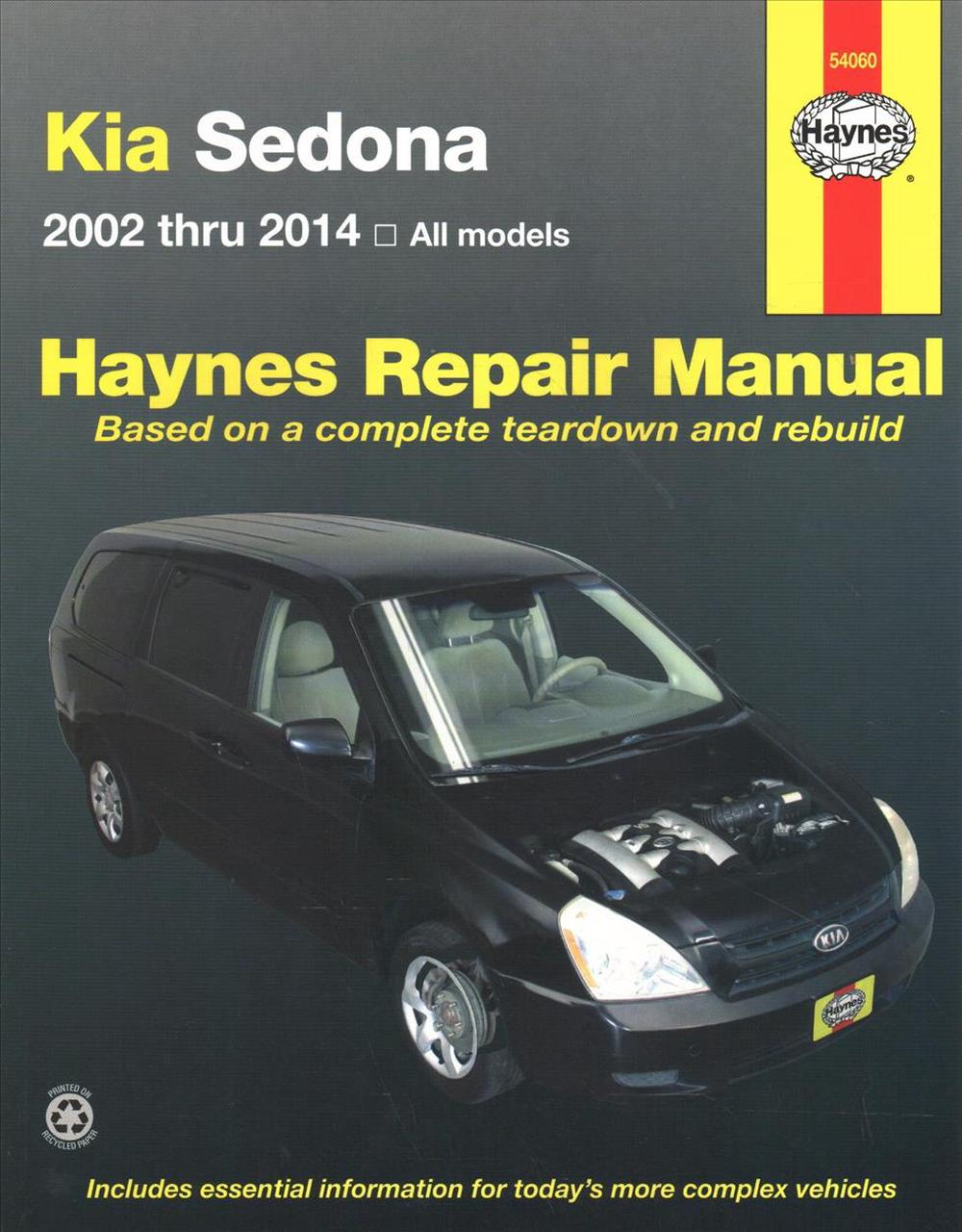 Kia Sedona Automotive Repair Manual: 02-14