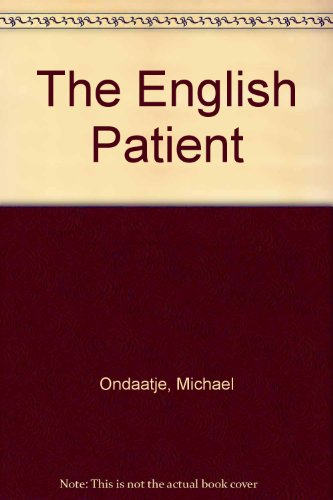 book rview on the english patient All about reviews: the english patient by michael ondaatje my book club chose this book at the time the movie was coming out and there was a lot of hype about.