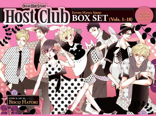 Ouran High School Host Club: Box Set 1-18