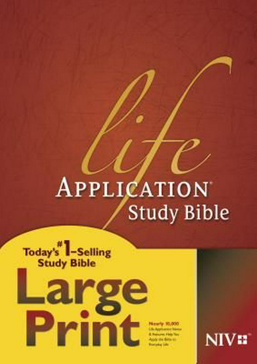 Life Application Study Bible-NIV-Large Print