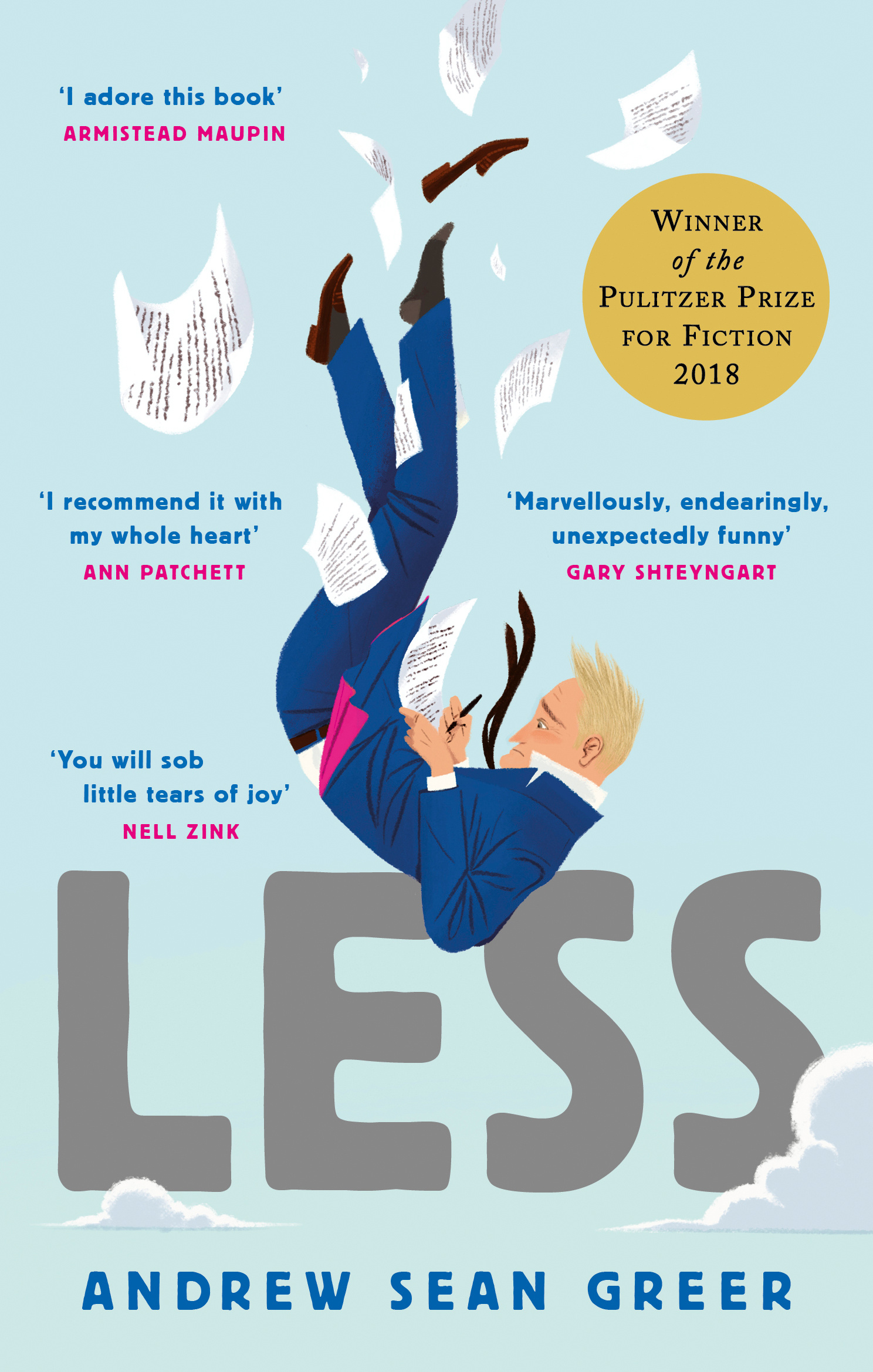 LessWinner of the 2018 Pulitzer Prize for Fiction by Andrew Sean Greer, ISBN: 9780349143590