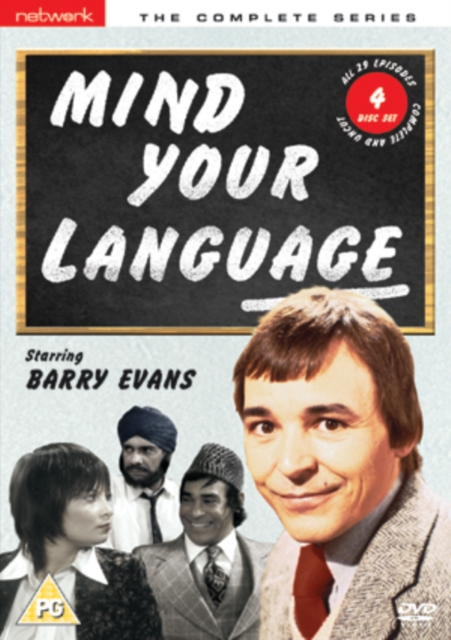 Mind Your Language - Series 1-3 - 4-DVD Set ( Mind Your Language - Series 1, 2 and 3 ) ( Mind Your Language - Series One, Two & Three ) [ NON-USA FORMAT, PAL, Reg.2 Import - United Kingdom ]