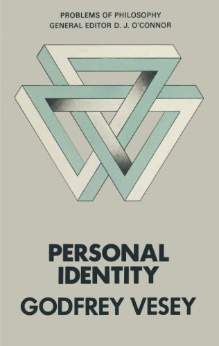 Personal Identity by G N a Vesey, ISBN: 9781349016860