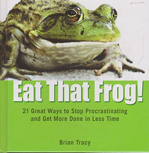 eat that frog a great practice Buy the paperback book eat that frog by brian tracy at indigoca eat that frog 21 great each of the 21 chapters offers clear instructions and practice.
