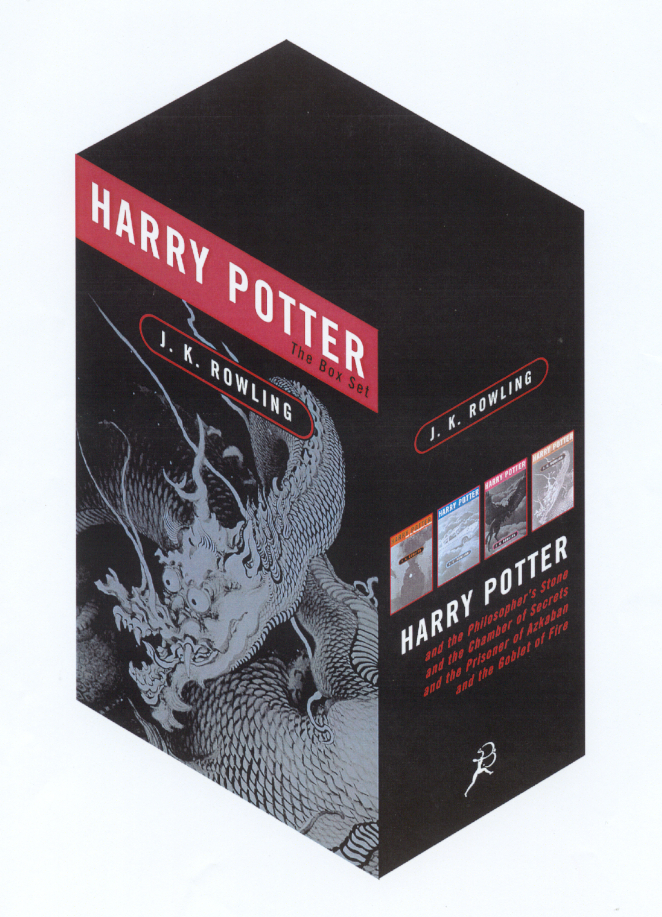 Harry Potter 4 Volume Adult Box Set by JK Rowling, ISBN: 9780747560005