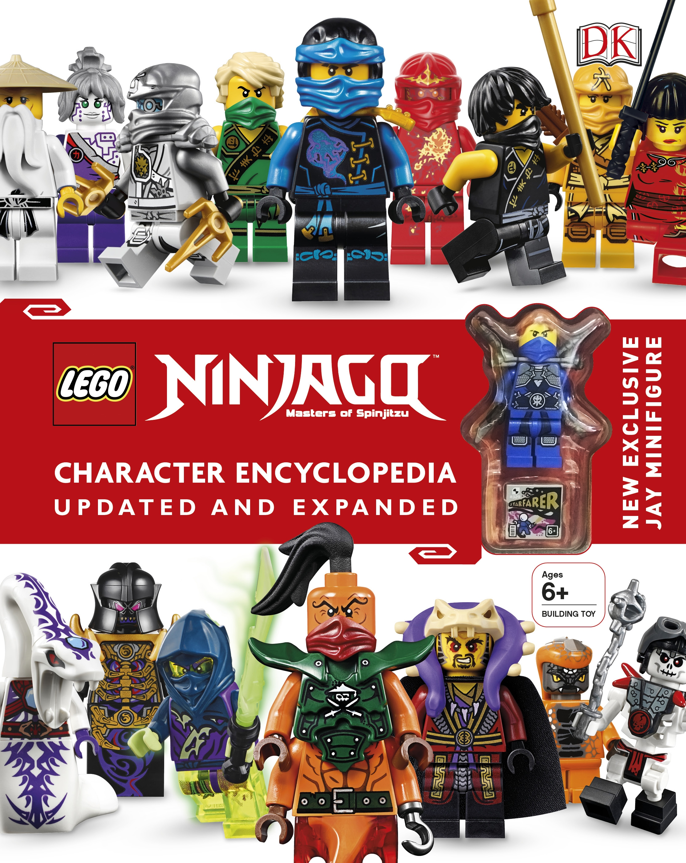 LEGO Ninjago Character Encyclopedia by Dorling Kindersley, ISBN: 9780241232484